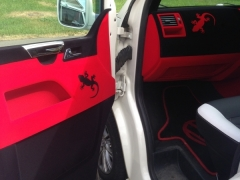 T5 interior parts flocked