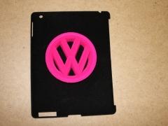 I pad & vw badge