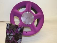 Flocked wheel & camo
