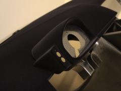 Nissan gt-r gt3 carbon dash flocked in black