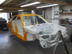 Subaru Legacy rally car full paint