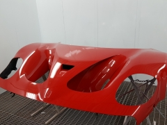 Ferrari F50 GT carbon bonnet painted