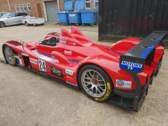 LMP race car full paintwork