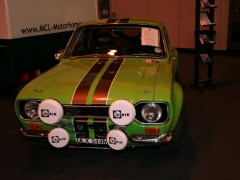 Kermit at the auto sport show